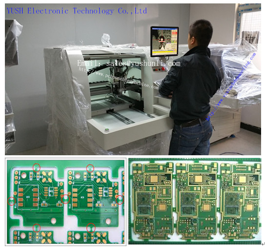 Two-Slide PCB Separator-YSVC-650/Vacuum Cleaner for PCB Router