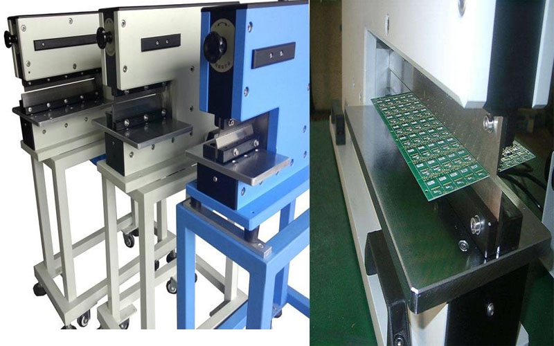 Buy High Quality Pneumatic type PCB depaneling machine cutting alum board without stress